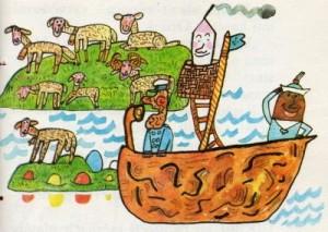 Jak ořechová skořápka plula na Vánoční ostrov