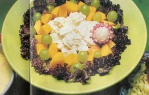 Drůbeží salát s ovocem