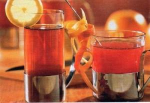 Bezinkový čaj s citronem